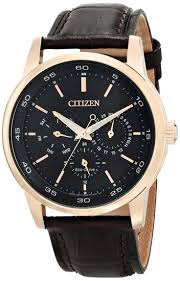 citizen eco drive watches lowest citizen price citizen men watches eco drive analog day date brown leather bu2013 08e