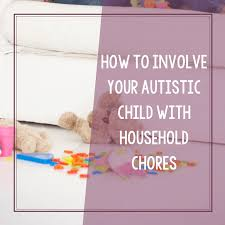 Free Chore Chart Printable For Children With Autism