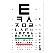 Where Can I Buy An Eye Chart Korean Eye Chart