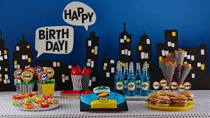 Image result for superheroes birthday theme