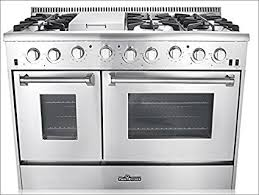 gas kitchen stove. 48\u0026quot; 6 Burner Gas Range With Double Oven And Griddle Kitchen Stove