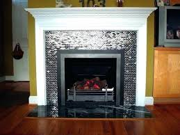decorative faux birch logs for fireplace lo