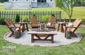 backyard fire pit with tutorial by prodigal pieces prodigalpieces com