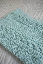 Cable Knit Blanket Pattern Simple Design Inspiration