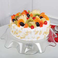 creamy vanilla fruit cake cakes for birthday