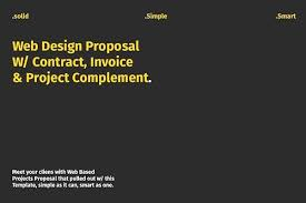 Website Design Development Proposal Template Fresh How To Write A ...