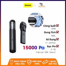 ẢNH THẬT] Máy hút bụi cầm tay công suất lớn 135W Baseus A3 Car Vacuum  Cleaner (15000pa, 135W)