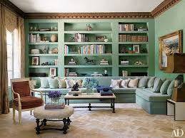 Blue-Green Painted Room Inspiration
