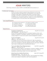 Programmer Resume Sample System Programmer Cover Letter rehabilitation specialist cover letter 65