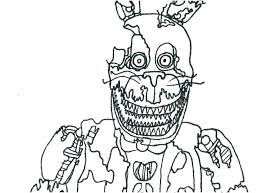 Fnaf Coloring Pages Bonnie At Getdrawingscom Free For Personal