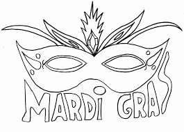 Small Picture Mardi gras coloring pages mask ColoringStar
