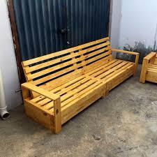 wooden pallet furniture. Beefy Wooden Pallet Sofa Design Furniture