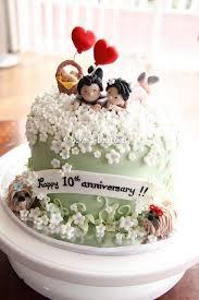 10th Wedding Anniversary Cake Anniversary Ideas Wedding