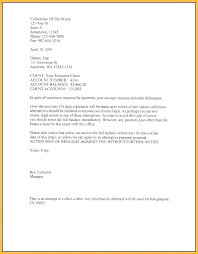 Delinquent Account Letter Template Late Rent Notice Template