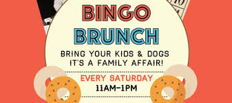 Saturdays Bingo Brunch Lets Play Over Bagels And Coffee