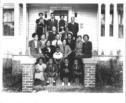 Photo of the Norris Family c.1937