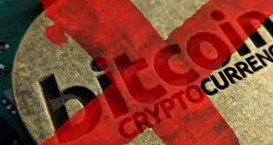 Image result for CRYPTO BAN