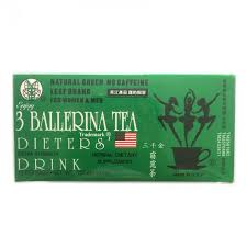 3 ballerina drink nutrition weight loss t drink supplement hot sell burn fat slimming herbal 18 bags