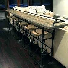Narrow bar table Narrow Kitchen Architecture Narrow Bar Table Attractive Handmade Bespoke Modern Industrial Long Regarding From Narrow Bar Theprimordialscom Narrow Bar Table Awesome Long Katiameneghini Com Within 16