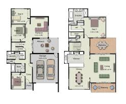 Duplex Small House Design Floor Plans With 3 And 4 Bedrooms4 Bedroom Duplex Floor Plans
