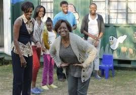 Michelle Obama, Marian Robinson, Malia Obama, Sasha Obama, Avery Robinson,  Leslie Robinson | Barack and michelle, Michelle obama, Michelle obama  fashion