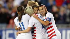 Soccer crest all over flower print. Why The U S National Women S Soccer Team Is Suing The Atlantic