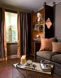 Home Decor Accent Furniture 100 ways to Fall into Autumn with Rich RustColored Home Decor 74