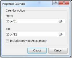 Quickly Insert A Monthly Or A Yearly Calendar In Excel