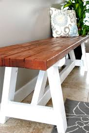 for 20 this diy farmhouse bench is a project you should definitely tackle this weekend you could even let your husband help if you want