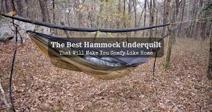 The Best Hammock Underquilt That Will Make You Comfy Like Home ... & best-hammock-underquilt Adamdwight.com