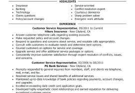Customer Service Resume Template Customer Service Representative