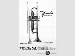 yamaha instruments. the first yamaha branded wind instrument, ytr-1 trumpet was launched. instruments