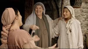 Maria deixa Nazaré e reencontra Isabel nas montanhas da Judeia