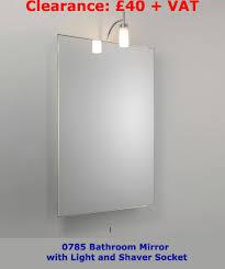 Bathroom Mirror With Shaver Socket Home Design