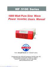Wfco Wf 5110h User Manual Pdf Download