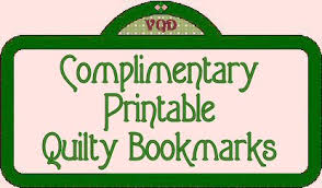 Free Printable Quilty Bookmarks from Victoriana Quilt Designs & Free Printable Quilty Bookmarks Adamdwight.com