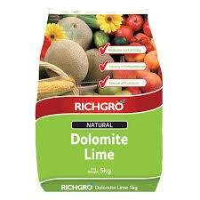 richgro 5kg natural dolomite lime