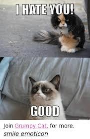 grumpy cat good smile. Simple Good Cats Grumpy Cat And Good I HATE YOU GOOD Join Cat And Good Smile G