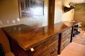 woodform concrete countertops excavating inc concrete counter top bar acid stain wood grain concrete countertops