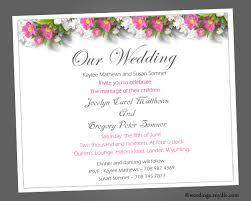 Sample Of Wedding Invatation Sample Wedding Invitation Rome Fontanacountryinn Com