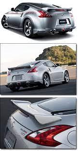 Motorsport Nismo Rear Deck Spoiler 09 16 370z Coupe Nissan 350z Nissan Z Cars Nissan 370z Nismo