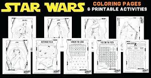 Printable Star Wars Coloring Pages Star Wars Coloring Printable Star
