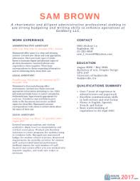 Samples Of Chronological Resumes Chronological Resume Samples