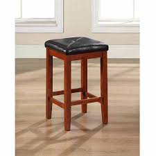 upholstered bar stools. Crosley Furniture Upholstered Square Seat Bar Stool With 24\ Stools