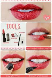 lipstick tutorials best step by step makeup tutorial how to why not valentine edition