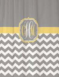 shower curtain chevron you choose colors 70 74 78 84 88 or 96 inch extra long custom monogram personalized for you cool gray er