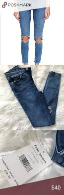 Free People Skinny Jeans Brand New With Tags Size Chart In