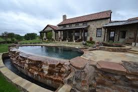 residential infinity pool. Wonderful Pool Denton Infinity PoolSpa In The Countryside 2014 APSP Region 3  On Residential Pool