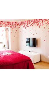 s assetscdn1 paytm com images catalog walltola flowers pink red romantic cherry wedding decoration living room backdrop wall stickers