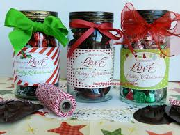 Kitchen Christmas Gift Its Written On The Wall Add A Christmas Tags To Your Homemade